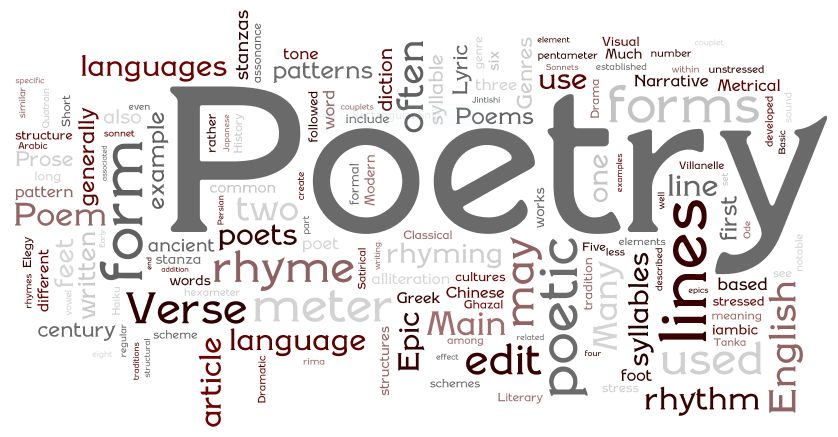 Dark Poetry Reading: YESTERDAY, TODAY, TOMORROW  by EveNoel